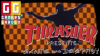 Thrasher Presents: Skate and Destroy - PS1 Cult Classic
