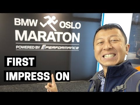 OSLO MARATHON EXPO 2018 | Oslo - Norway First Impression