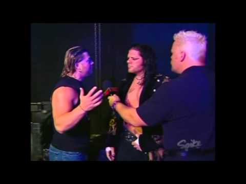 Shane Douglas Backstage Interview With Raven and Cassidy Riley