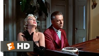 The Seven Year Itch (2/5) Movie CLIP - Good Old Rachmaninoff (1955) HD