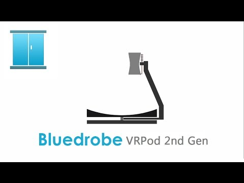 Bluedrobe VRPod Omnidirectional Treadmill 2nd Gen Conceptual Promo 2016