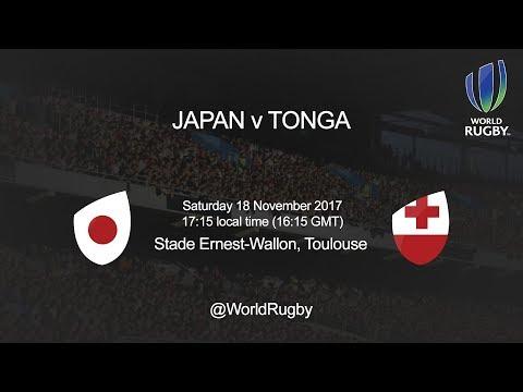 2017 Tonga Tour - Japan v Tonga