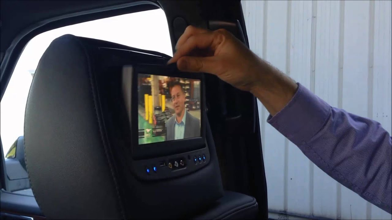 How To Use Rear Entertainment Dvd In A 2014 Lincoln