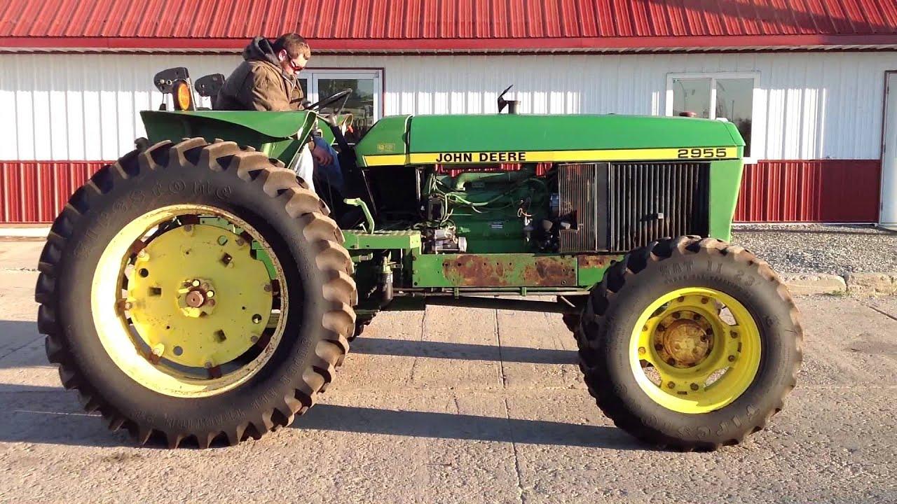 John Deere 2955 Mfwd Tractor For Auction