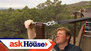 How to Install a Shade Sail | Ask This Old House
