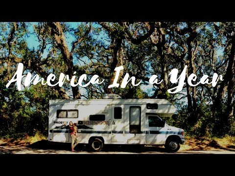 A Year Around America *Living In Motorhome*