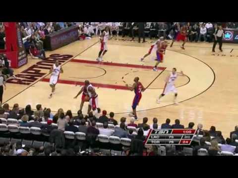 Toronto Raptors vs Los Angeles Clippers March 31,2010