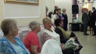 День свадьбы ...бабушка Зина и Наташа