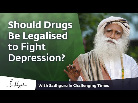 Should Drugs Be Legalised to Fight Depression? 🙏 With Sadhguru in Challenging Times - 08 Nov