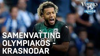 Samenvatting Olympiakos - Krasnodar (play-offs Champions League)