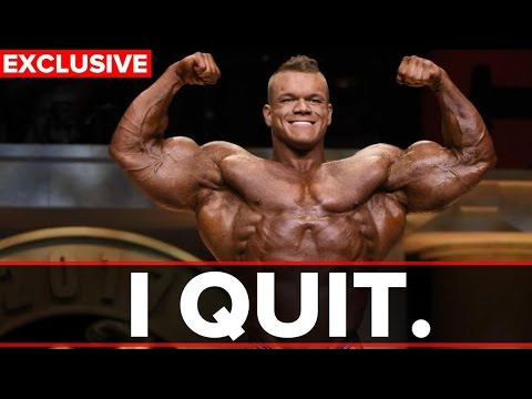 Dallas McCarver: I QUIT! (RXMuscle Exclusive)