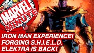 Iron Man Experience! Forging S.H.I.E.L.D.! - Marvel Minute 2016