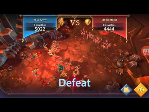 Lords Mobile - Skirmish 6 Conquering With T2 Troops