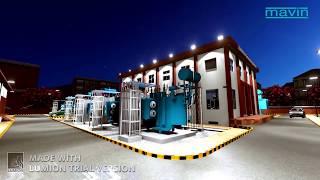 220 66 11kv indoor gis substation at mebp bangalore karnataka