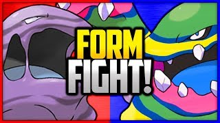 Muk: Kanto vs Alola | Pokémon Form Fight