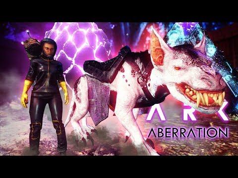ARK Aberration - EXOTIC BREEDING! Ravager Breeding & Rock Drake Egg, REAPER ATTACKS BASE! - Gameplay