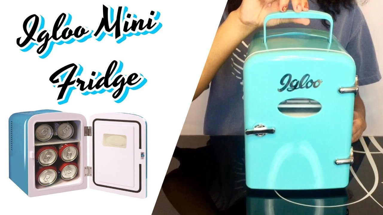 Igloo Mini Beverage Refrigerator Fridge Model Mis129c