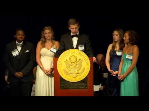MidSouth - Houston High School at 2013 National Jefferson Awards in Washington, DC