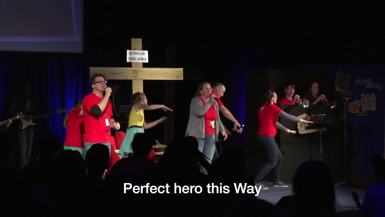 Perfect Hero Live Kids Community Connect 2016 (Lyrics) - YouTube