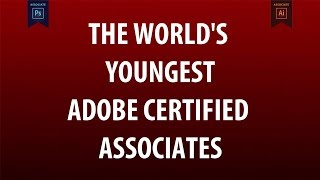THE WORLD'S YOUNGEST ADOBE CERTIFIED ASSOCIATES BY VDLD DEZIGNERS