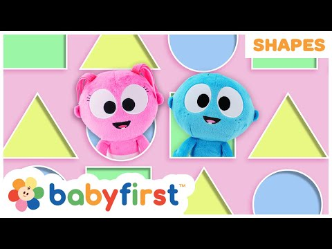 Learn Shapes for Kids w GooGoo & GaaGaa | Educational Learning Videos for Toddlers | Baby First