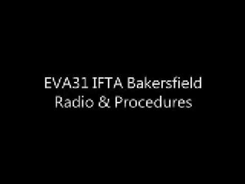 EVA31 IFTA Bakersfield - Radio & Procedures