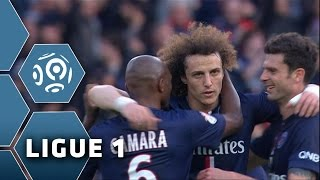 But David LUIZ (44') / Paris Saint-Germain - RC Lens (4-1) -  (PSG - RCL) / 2014-15