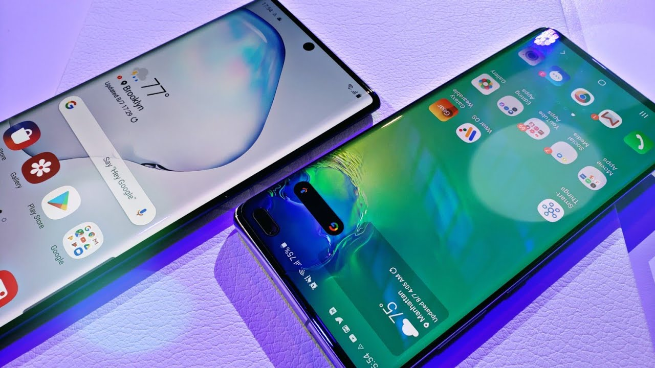 Samsung Galaxy Note 10 Plus Vs Galaxy S10 Plus Quick Comparison