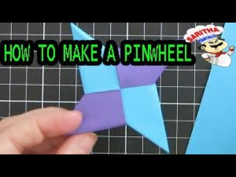 HOW TO MAKE PAPER PINWHEELS-FAST & EASY|DIY HOME DECOR IDEAS|THE SPRUCE CRAFTS -