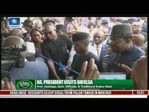 Acting President Visits Bayelsa State