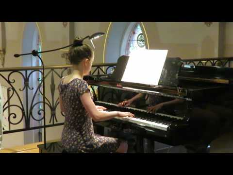 2017 6 2 Julia Piano at Church Recital 1
