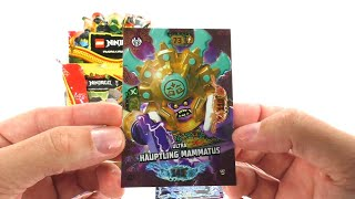 LEGO Ninjago Trading Card Game Serie 6 Next Level / Display unboxing / 50 Booster