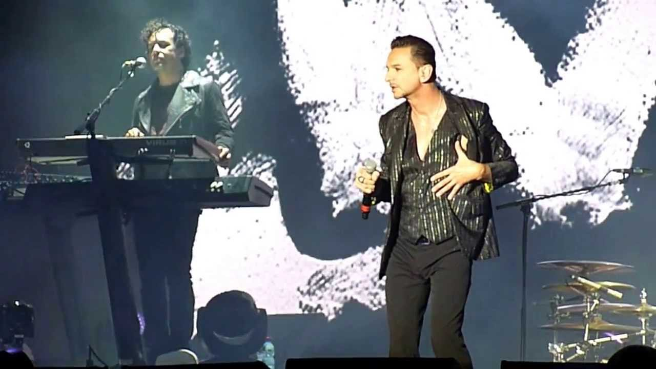 Depeche Mode Welcome To My World Live In Tel Aviv 2013 Youtube