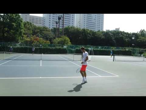 Marin Cilic Practice With Tomas Berdych Before Japan Open 2016 HD