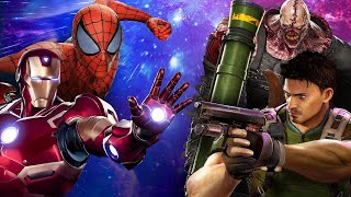 Marvel vs. Capcom: Infinite - The Avengers take on Resident Evil