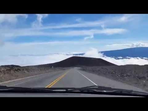 Mauna Kea Summit - Driving 2005 Toyota Corolla 10 Year Old Economy Car - Big Island, Hawaii