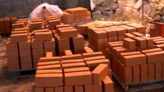 황토벽돌기계-하루1000장