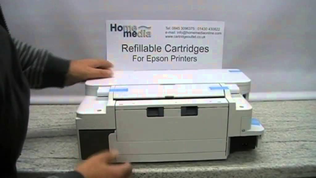 Epson printers Maintenance Tank information video