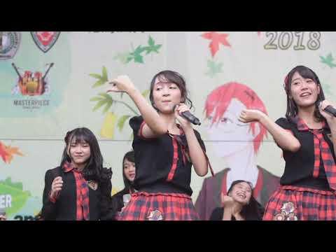 Oshi Cam Ayana JKT48 - Indahnya Senyum Manismu at Pensi SMAN 4 Bekasi (29.04.2018)