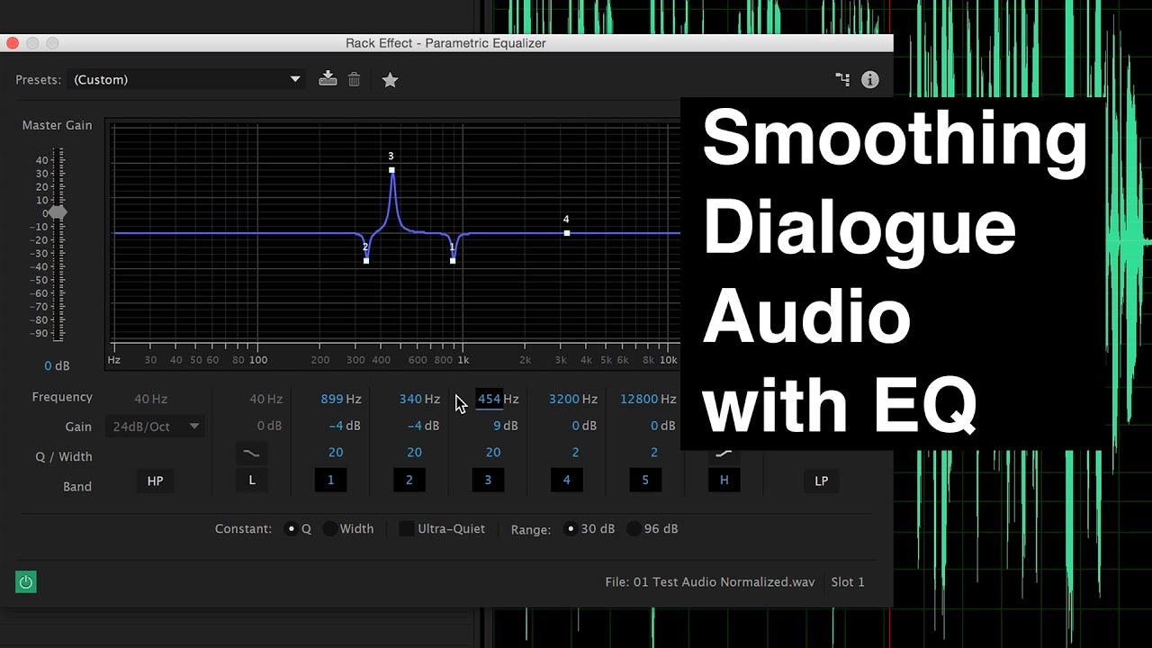 Eq For Smoothing Dialogue Audio Youtube 221510 Band Stereo Graphic Equaliser
