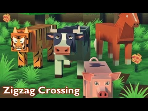 Zigzag Crossing - Android Gameplay HD