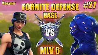 Fortnite Saving the World Defense Morne the Valley 6 in SOLO! #27
