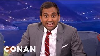Download Aziz Ansari Knows How To Handle Bullies - CONAN on TBS Mp3 and Videos