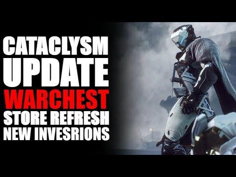 ANTHEM UPDATE! | CATACLYSM WK3, NEW WARCHEST SUPPORT, NEW INVERSION, NEW ARENA & STORE REFRESH!