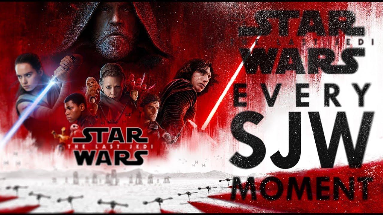 Star Wars The Last Jedi - Every SJW Moment
