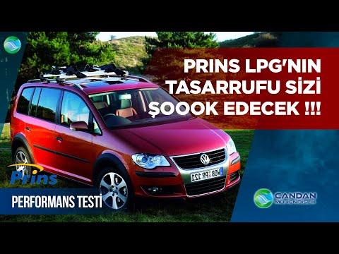VW Touran 1.4 TSI & BMY ; Prins LPG'nin Tasarrufu Sizi Şoook Edecek !!!