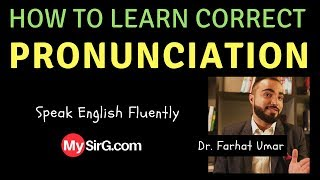 #4 How to learn correct pronunciation