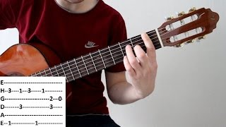 Разбор красивого блюза на гитаре для начинающих