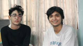 Bangladeshi gay Nabil Shams with Fairose Pranto