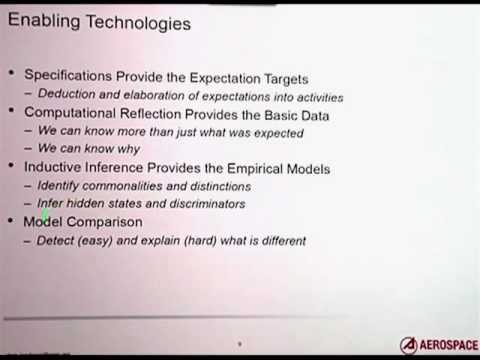 Model Comparison for Fault and Attack Detection, Christopher Landauer, Aerospace
